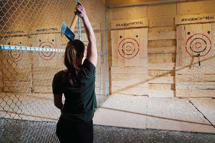 Urban Axe Throwing Miami