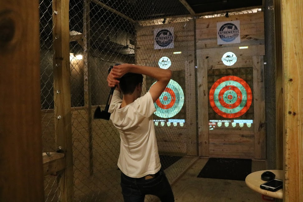 Axe Throwing Hollywood 14