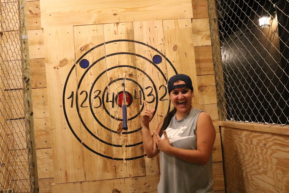 Hollywood FL Extreme Axe Throwing