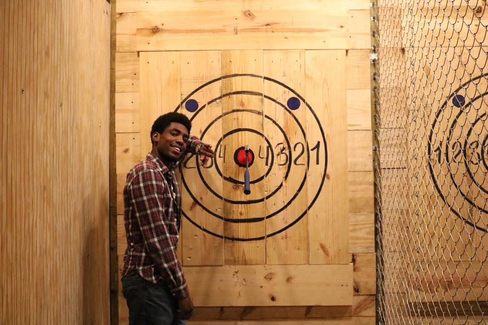 Axe Throwing Hollywood