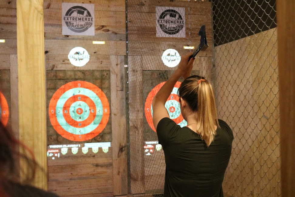 Extreme Axe Throwing Hollywood FL