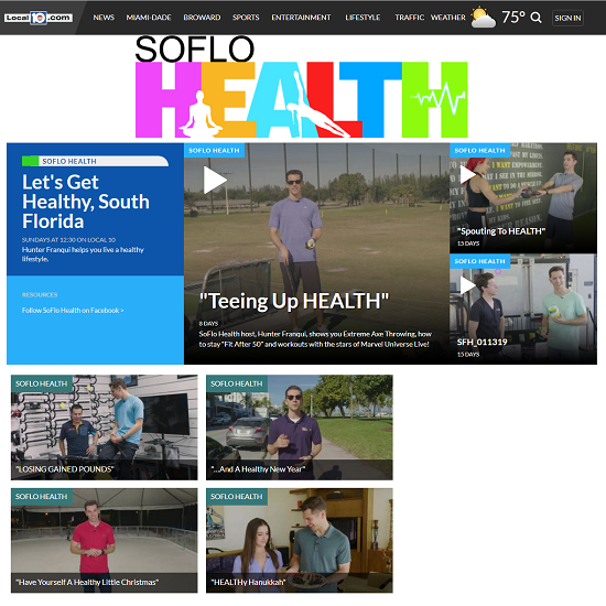 WPLG LOCAL 10 – SOFLO HEALTH